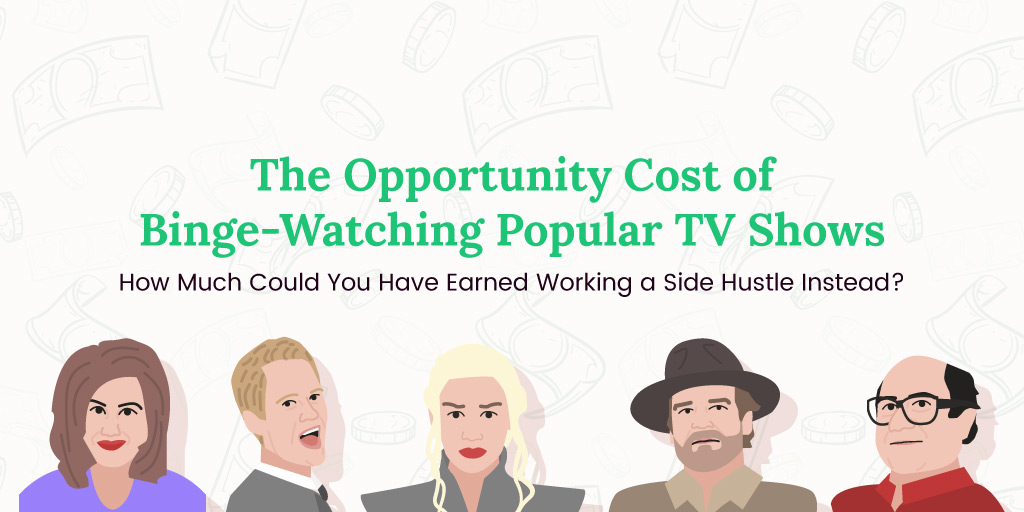 The Opportunity Cost of Binging TV Shows