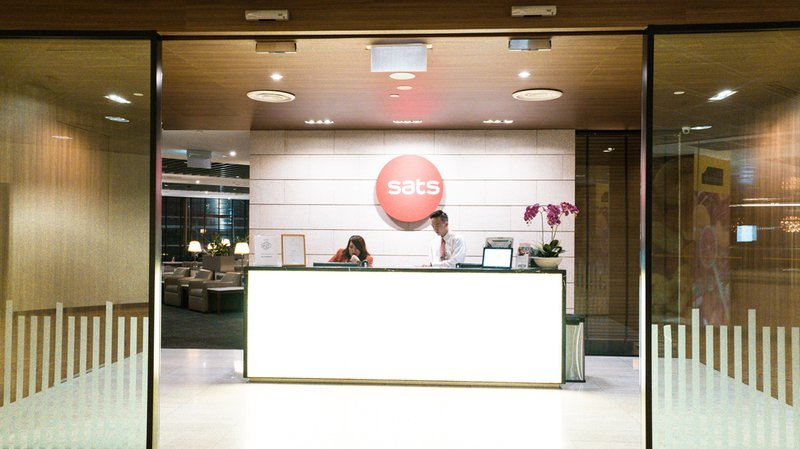 SATS Premier Lounge entry.